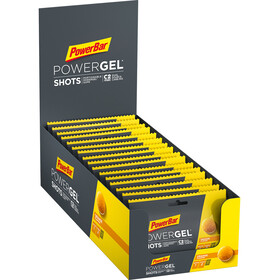 PowerBar PowerGel Shots Box 16 x 60g Orange